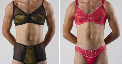 Det er kommet en kolleksjon med sexy undertøy for menn. Kjenner du en noen hadde kledd dette?